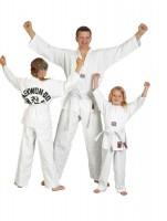 "Ju-Sports Taekwondoanzug ""to start"" mit Rückendruck"