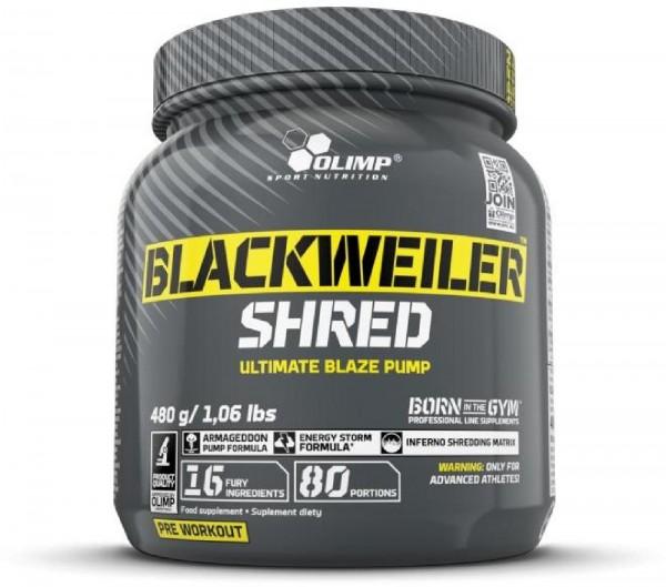 Olimp Blackweiler Shred, 480 g Dose