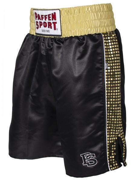 PAFFEN SPORT PRO GLORY Profi-Boxerhose schwarz/gold