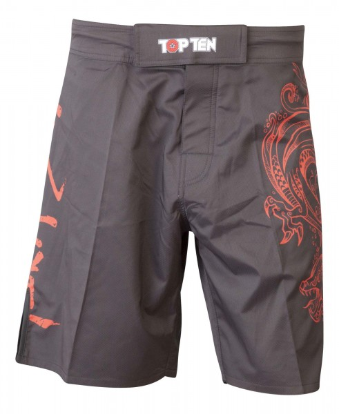 TOP TEN MMA MMA-Shorts Dragon
