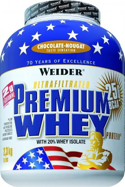 Joe Weider Premium Whey Protein, 2300 g Dose