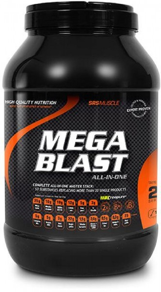 SRS Mega Blast, 1900 g Dose
