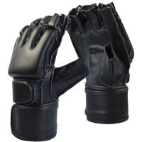 Grappling MMA Security Handschuhe Lederhandschuhe
