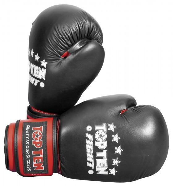 TOP TEN Boxhandschuhe Fight Black