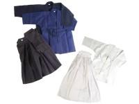 Phoenix Hakama Kendo und Aikido in weiß, blau und schwarz