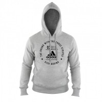 ADIDAS Community Hoody Kickboxing Grey/Black