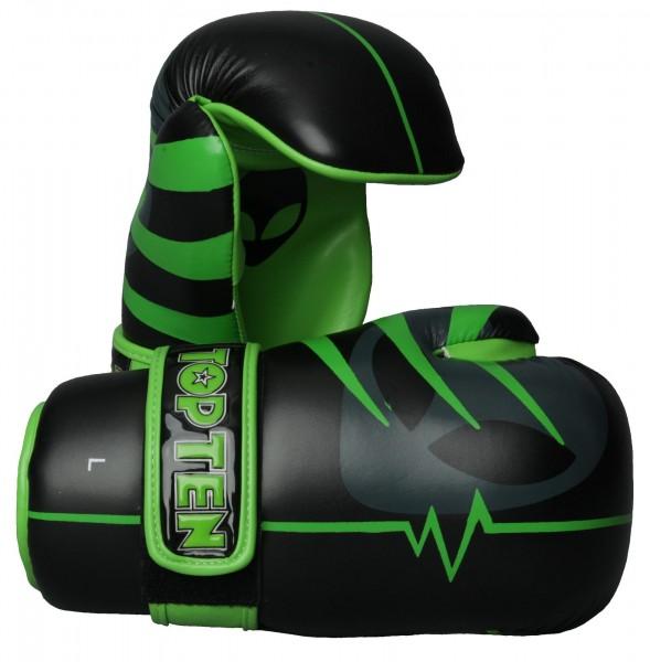 TOP TEN Pointfighter Neon Alien schwarz-grün Grösse M
