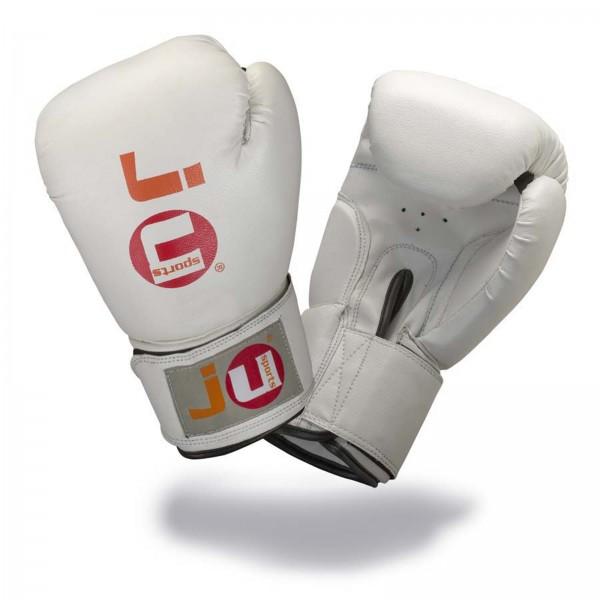 Ju-Sports Boxhandschuhe Training (weiß, 8oz)
