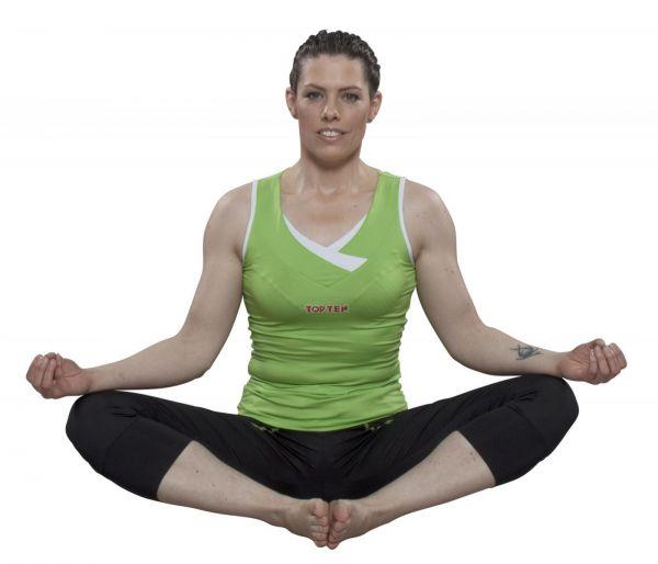 Fitness Top Women von Top Ten in Grün