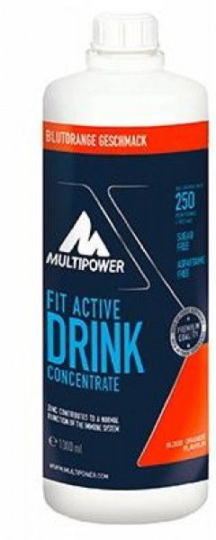 Multipower Fit Active 1:80, 1000 ml