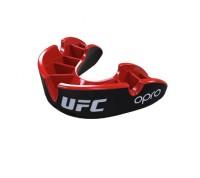 """Ju-Sports OPRO """"UFC"""" Zahnschutz Silver - Black/Red, Senior"""