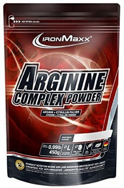 IronMaxx Arginine Complex Powder, 450 g Beutel