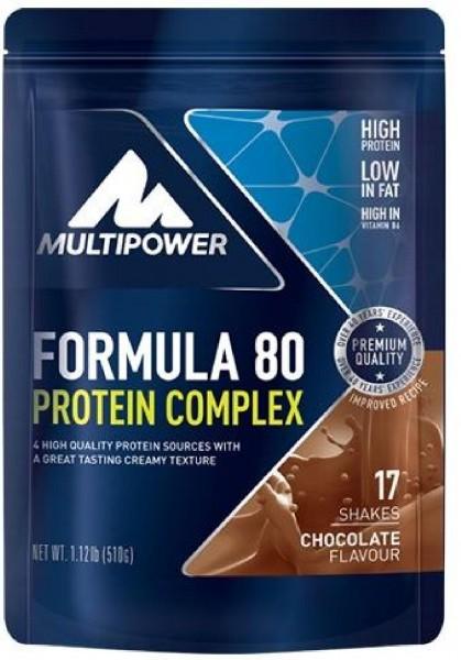 Multipower Formular 80 Protein Complex, 510 g Beutel