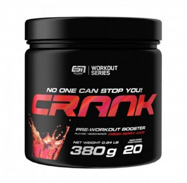 ESN Crank 2.0, 380 g Dose