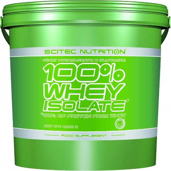 Scitec Nutrition 100% Whey Isolate, 4000 g Dose