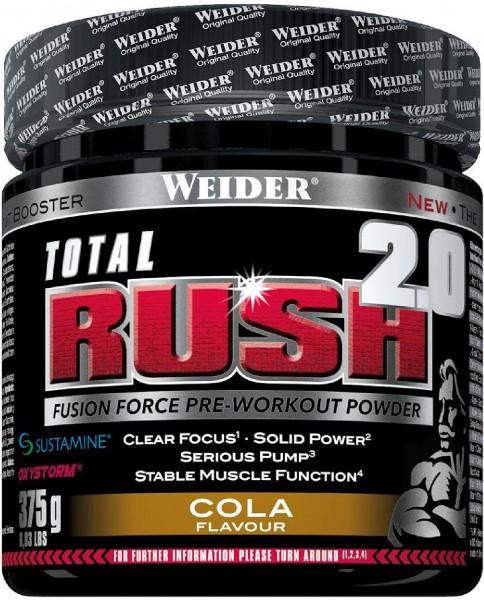 Joe Weider Total Rush 2.0, 375 g Dose