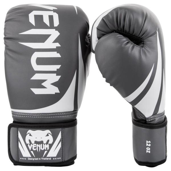 VENUM Challenger 2.0 Gloves-Grey/White-Black