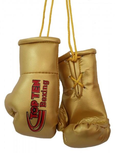 TOP TEN Mini-Boxhandschuhe TOP TEN Boxing - gold