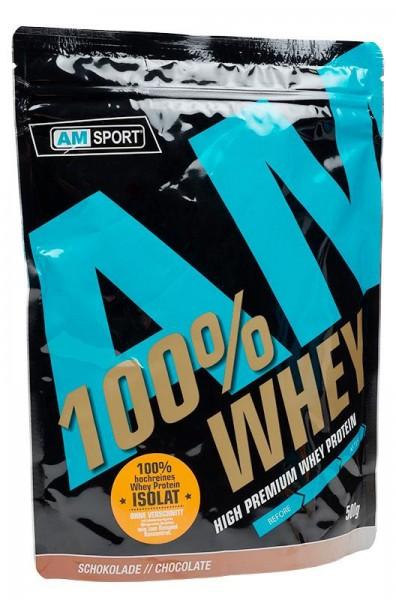 AMSPORT High Premium Whey Protein, 500 g Beutel