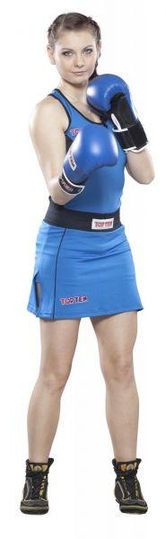Boxshirt Damen Top Ten blau