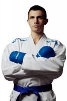 HAYASHI 8oz Kumite Karateanzug Champion Flexz K1 Blau mit WKF-Zulassung