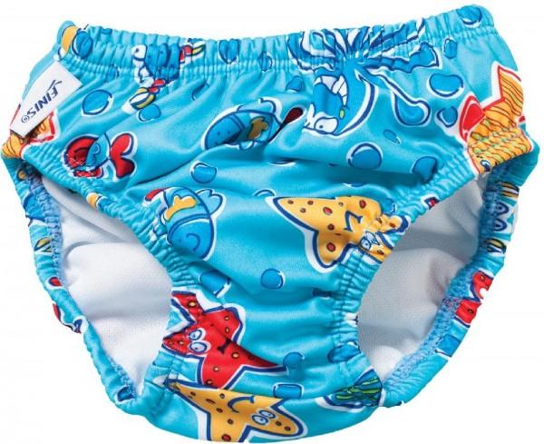 Finis Schwimm-Windel, wiederverwendbar, Blue Octopus