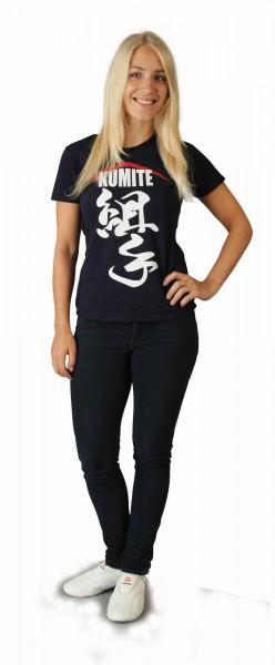 T-Shirt Kumite II von Hayashi in schwarz