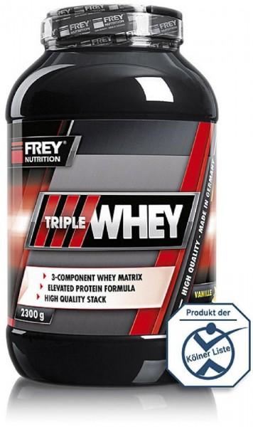 Frey Nutrition Triple Whey, 2300 g Dose