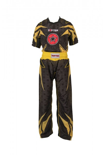 TOP TEN Future Kickbox Uniform Yellow