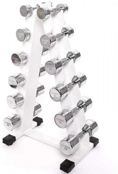 C.P. Sports Hantel-Ständer für 6 Paar Hanteln (G47-1)
