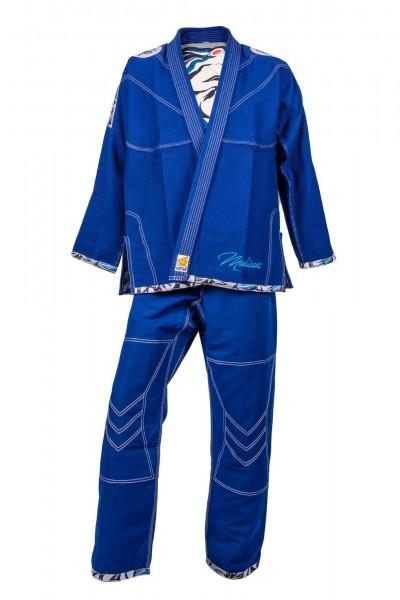 Blauer TOP TEN Brazilian Jiu-Jiutsu Anzug Mohicans Blue mit IBJJF-Zulassung