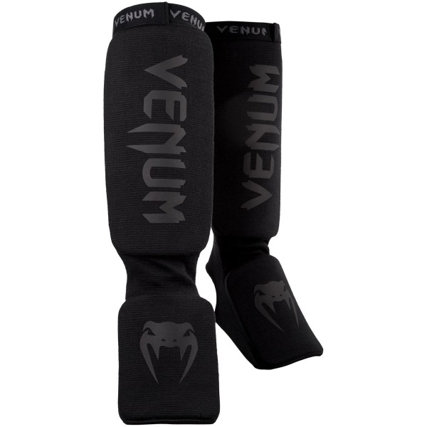 VENUM Kontact Shinguards Black/Black