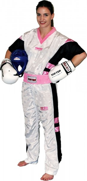 TOP TEN Kickbox Anzug NEON Girls