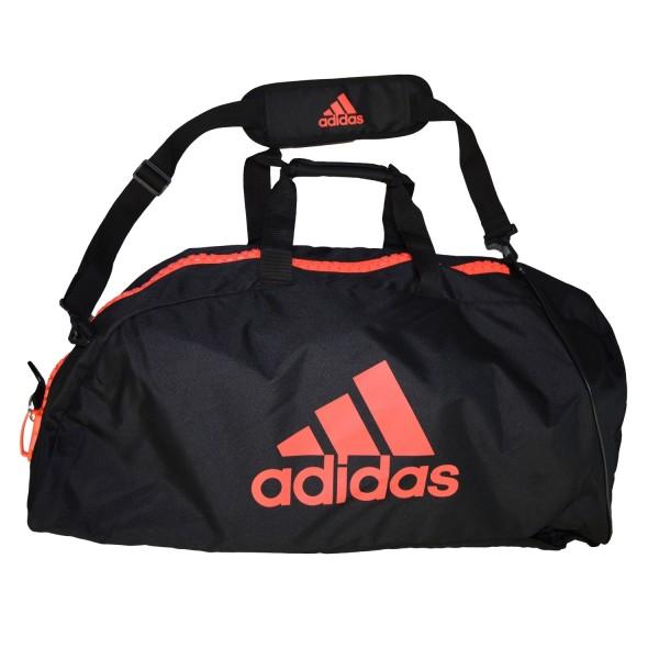ADIDAS Martial Arts 2 in 1 Bag schwarz-rot L