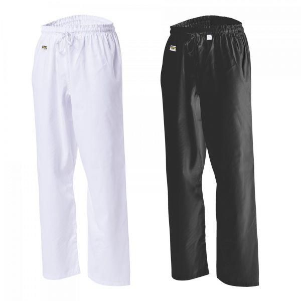 Kampfsporthose schwarz und weiß