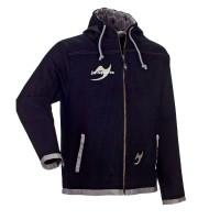 Ju-Sports Street-Gi Hodded Zip Jacket black