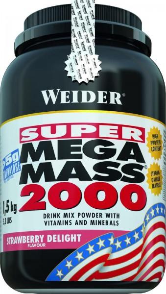 Joe Weider Mega Mass 2000, 1500 g Dose