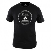 ADIDAS Community T-Shirt Kickboxing Black/White