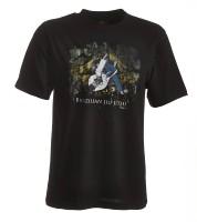 Ju-Sports BJJ-Shirt Ground Warrior schwarz