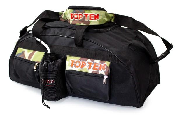 TOP TEN Sporttasche Camouflage Set - 70 cm x 30 cm x 30 cm