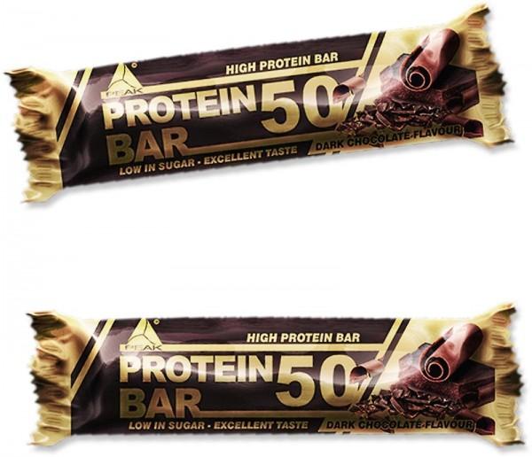 Peak Performance Protein Bar 50, 24 x 50 g Riegel