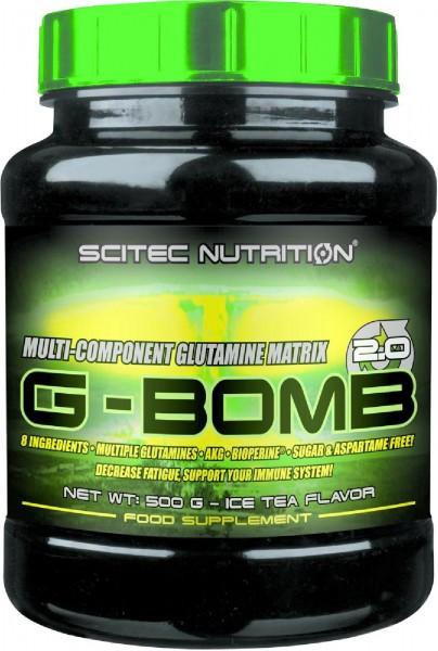 Scitec Nutrition G-Bomb 2.0, 500 g Dose