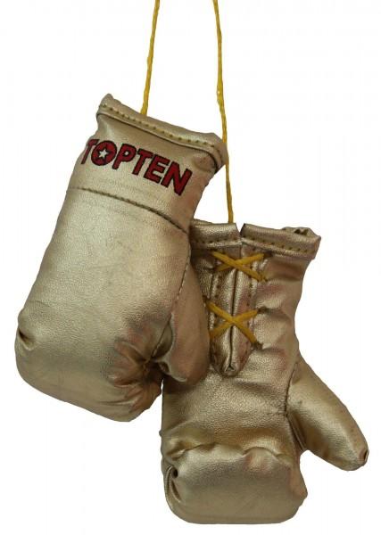 TOP TEN Mini-Boxhandschuhe TOP TEN - gold