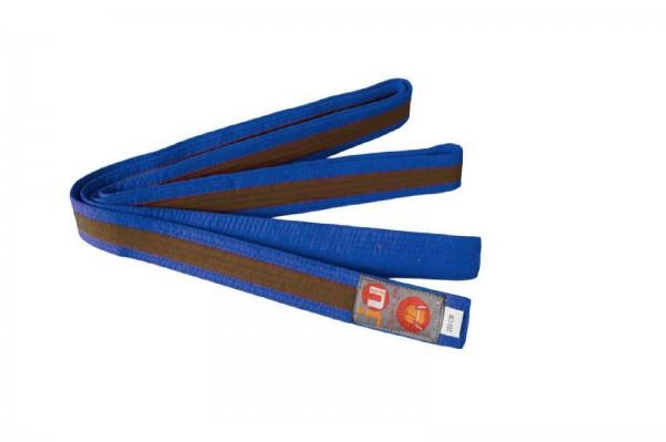 Ju-Sports Budogürtel blau/braun/blau