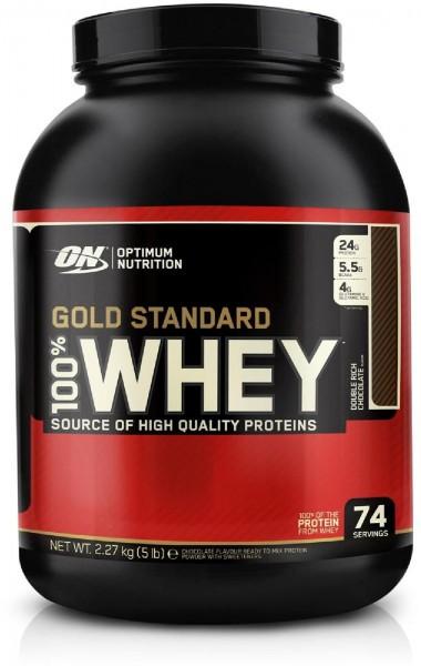 Optimum Nutrition 100% Whey Gold Standard, 2270 g Dose