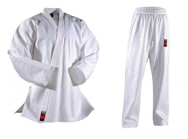 Weißer DANRHO Allround Karateanzug Shiro Plus 9oz