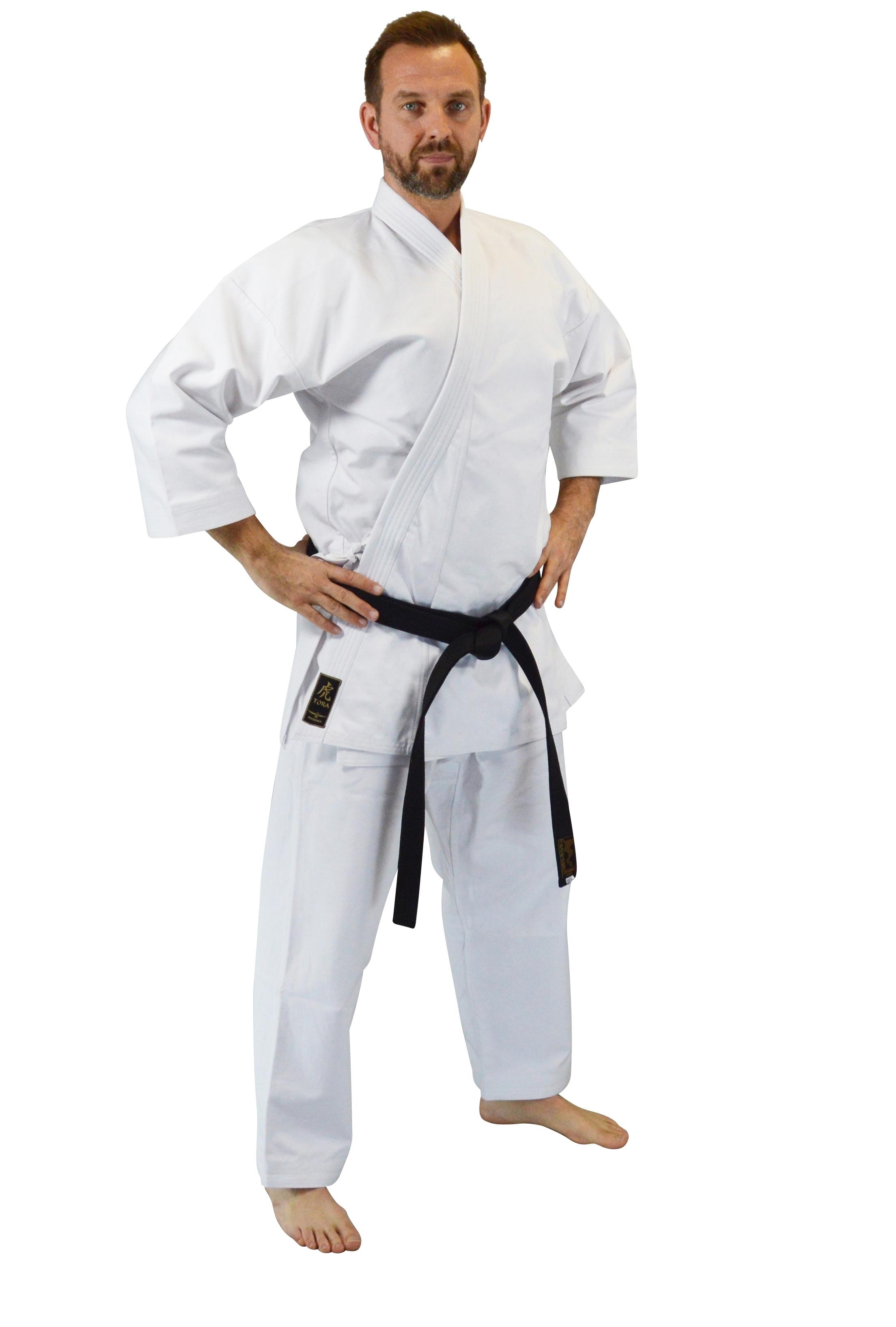 Karateanzug 100/% Baumwolle für Erwachsene Kinder und Jugend Gr.90-200 AN:2