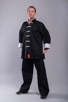 Phoenix Shaolinanzug II Kung Fu Black / White 1