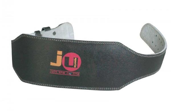 Ju-Sports Gewichtheber-Gürtel aus echtem Leder breit