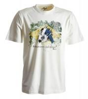 Ju-Sports BJJ-Shirt Ground Warrior weiß